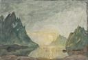 Midnight Sun. Study from North Norway (Anna Boberg) - Nationalmuseum - 21385.tif