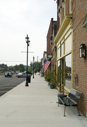 Midway, Kentucky - East Main Street in Midway