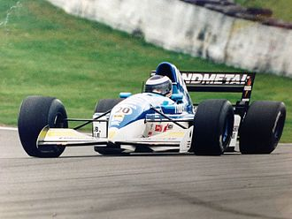 Mike Gascoyne - Mike Gascoyne driving a Tyrell f1 car in Boss GP series