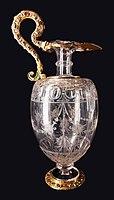 Milan Crystal ewer from lavabo set of Sigismund III Vasa.jpg