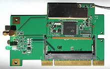 Переходник PCI Mini PCI (тип III) .