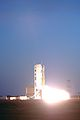 Minotaur ignition with TacSat-2 and GeneSat 1.jpg