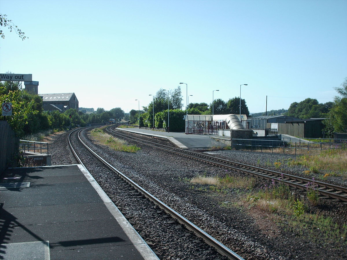 Mirfield railway station - Wikipedia