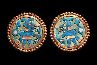 Moche culture - Image: Moche earrings