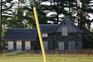 Dinesen-Motzfeldt-Hettinger Log House - 2009, before restoration