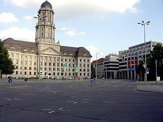 Altes Stadthaus, Berlin - Image: Molkenmarkt 01