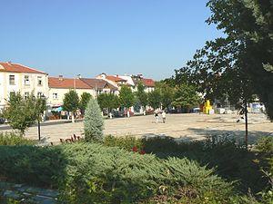 Momchilgrad - Town square