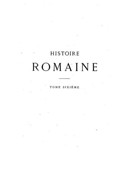 File:Mommsen - Histoire romaine - Tome 6.djvu