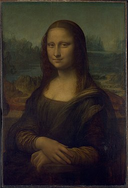 Mona Lisa, by Leonardo da Vinci, from C2RMF
