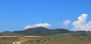 Sierra de Nava Alta - The 922 m high Monegre
