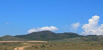 Sierra de Nava Alta - The 922 m high Monegre
