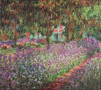 Le Jardin de l'artiste à Giverny - Image: Monet Monets Garten in Giverny