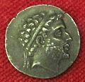 Monetiere di fi, moneta ellenistica argentea di filippo V, 221-179 ac..JPG