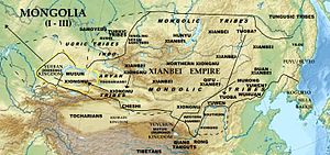 Xianbei state - The Xianbei state at its maximum extent