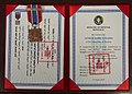 Mongolian Medal for International Military Cooperation Presented to ADM Harry Harris.jpg