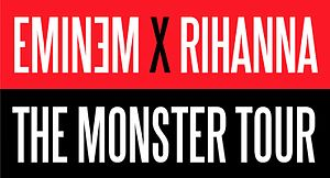 The Monster Tour (Eminem and Rihanna) - A logo for The Monster Tour