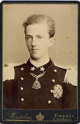 Victor Emmanuel III of Italy - Victor Emmanuel as a teenager, 1886.