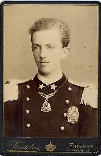 Victor Emmanuel III of Italy - Victor Emmanuel as a teenager, 1886.