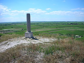 Battle of Cannae - A modern monument near the site of the Battle of Cannae