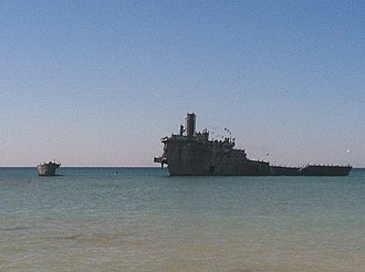 South Manitou Island - Francisco Morazan shipwreck.