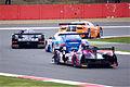 Morgan Nissan, Porsche 911 GT3 RSR, Lotus T128 and Ferrari F458 Italia (8669460544).jpg