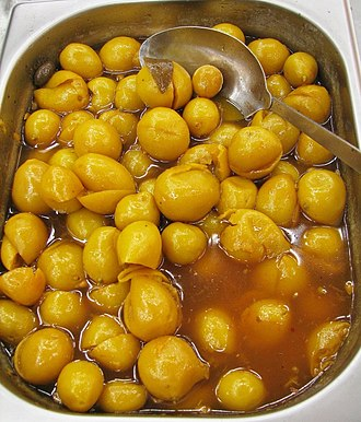Preserved lemon - Pickled lemons are a Moroccan delicacy