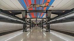 Stazione della metropolitana di Mosca CSKA asv2019-06.jpg