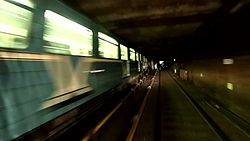 Файл:Moscow metro tunnels - view from cab of Synergy train.webm