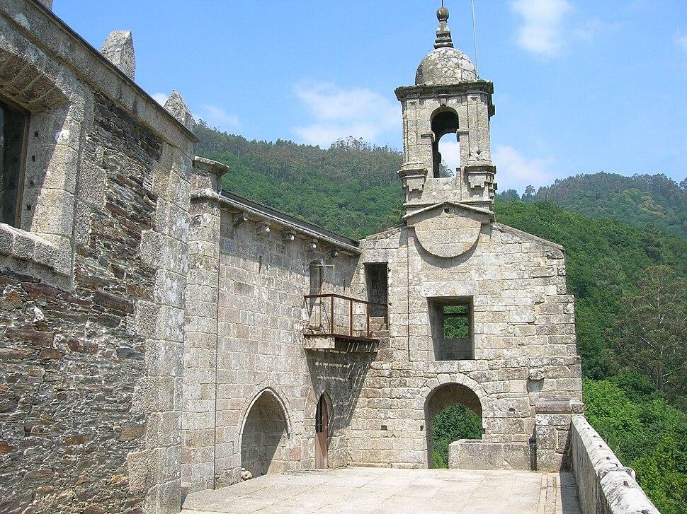 Mosteiro de San Xoán de Caaveiro, Galicia