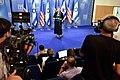 Mother of Slain U.S.-Israeli Teen Addresses Reporters as Secretary Kerry, Israeli Prime Minister Netanyahu Discuss Possible Cease-Fire With Hamas in Gaza Strip (14746597223).jpg