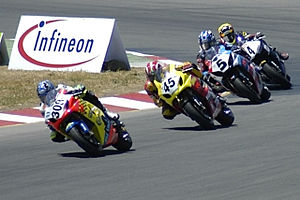 AMA Superbike Championship - An AMA Superbike race at Infineon Raceway in 2004.