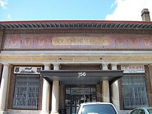 Mount Vernon West (Metro-North station) - Image: Mount Vernon West Station; NYCRR Building