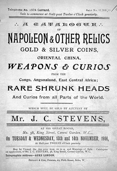 File:Mr. J.C. Stevens Sales Catalogue, Nov 1906 Wellcome L0032050.jpg