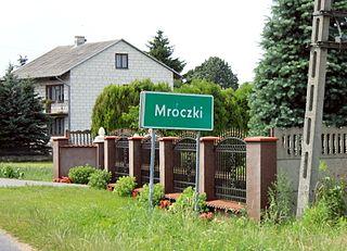 Mroczki, Siedlce County Village in Masovian, Poland