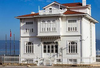 Mudanya Armistice House - Armistice house from the southwest