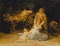 Mujeres atacadas por soldados por Francisco de Goya.jpg