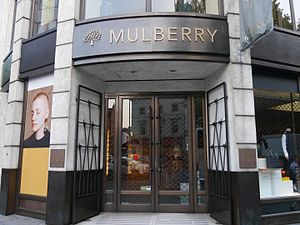 Mulberry (company) - Mulberry store, Brompton Road, London, 2016