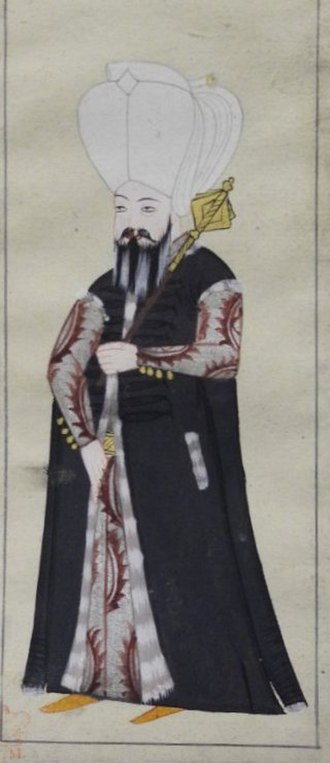 Çavuş - Image: Mundy Cavus, messenger or usher