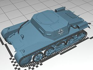 Panzer I variants - Munitionsschlepper on Panzer I Ausf A chassis