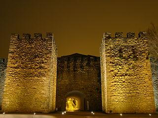 Castle of Lagos building in Lagos, Faro District, Portugal