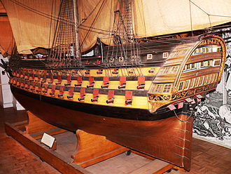 French ship Océan (1790) - Image: Musee Marine Ocean p 1000426