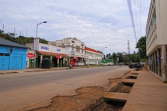 Musoma - Mkendo Road, the main street through Musoma