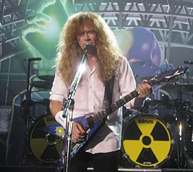 Dave Mustaine a Rust in Peace Live koncertfilmben