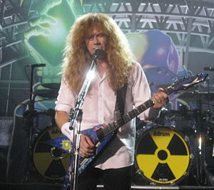 Rust in Peace - Dave Mustaine in Moscow during the album's 20th anniversary tour.
