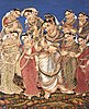 Krishna with eight wives