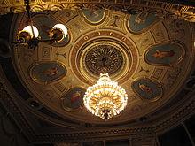 Národní divadlo v praze interiér
