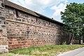 Nürnberg, Stadtbefestigung, Frauentormauer zwischen Turm Rotes M und K 20170616 001.jpg