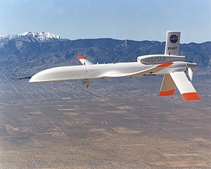 NASA ERAST Program - NASA's Altus II UAV developed under ERAST