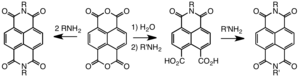 Naphthalenetetracarboxylic dianhydride - Synthesis of symmetric and unsymmetric NDIs.