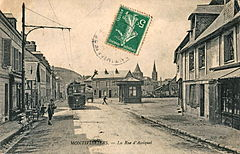 ND 278 - MONTIVILLIERS - La rue d'Assiquet.JPG